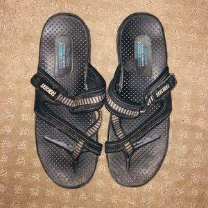 Skechers Black Sandals, Size 11
